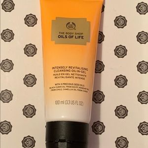 Cleansing oil in gel facial cleanser wash, New